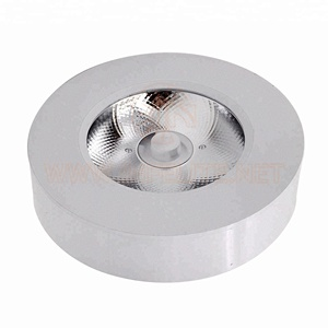 IN-DL201A Ultra Thin Driverless Non-driver LED Cabinet Wall Puck Light 3W 5W 7W 10W 15W COB Round Surface Mounted LED Downlight