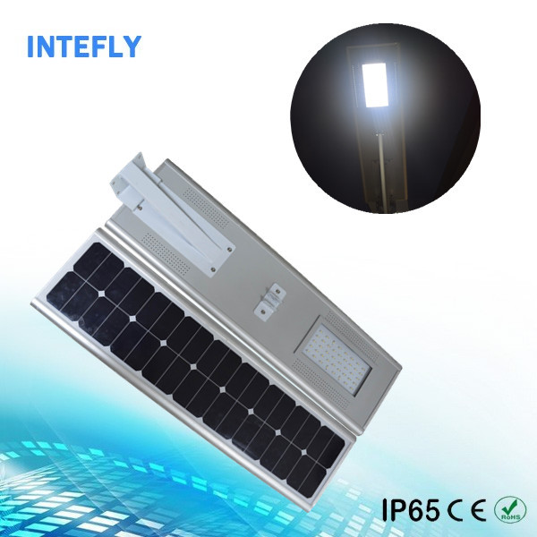 wind Solar Street Lights/Solar Street Lamp 50W IP66 With Bridgelux LED Chip