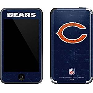 NFL Chicago Bears iPod Touch (1st Gen) Skin - Chicago Bears Distressed Vinyl Decal Skin For Your iPod Touch (1st Gen)