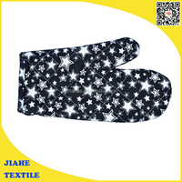 High Quality Promotion Printed Kitchen Cotton Oven Mitt