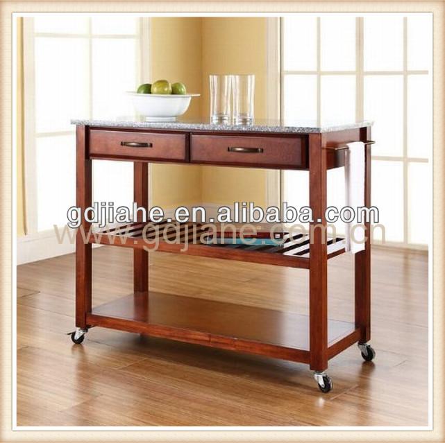 stile classico in legno cucina carrello armadio da cucina