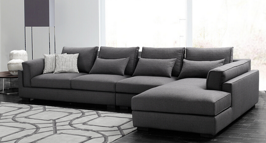 Latest Modern Corner New Sofa Design 2015 For Living Room