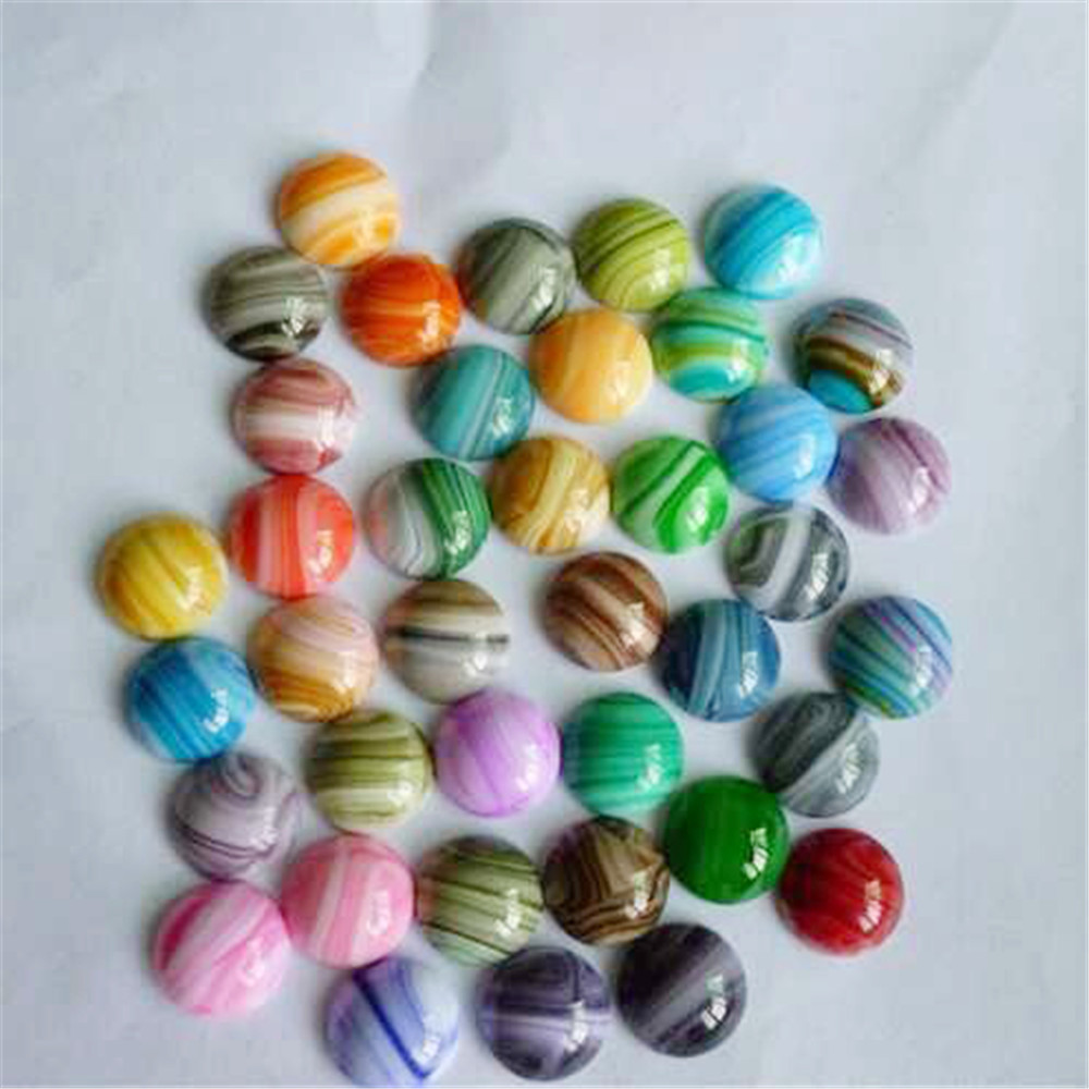 Hot selling round cabochons stones loose beads hundreds different colors