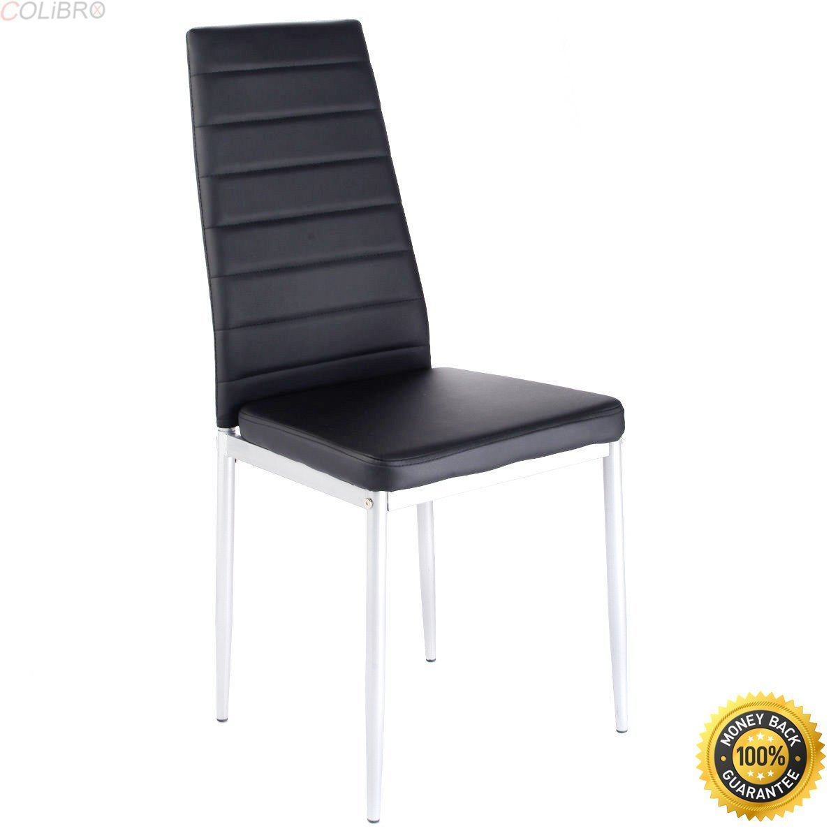 4 dining chairs for sale cheap get quotations colibroxset of pu leather dining side chairs elegant design home furniture black cheap modern chairs find deals on line