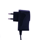 eu uk us plug ac dc 24v 300ma 0.3a power supply adapter 7.2w wall charger