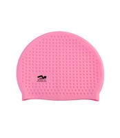 PVC zip bag bubble cap silicone adult 55g wholesales swimming caps