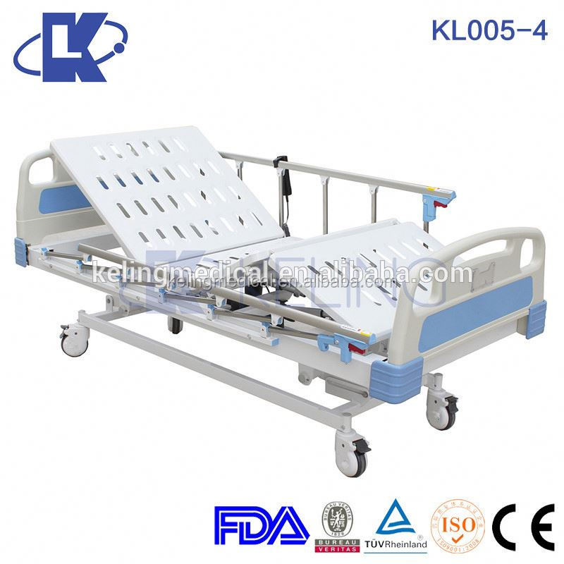 5 function electric adjustable bed mechanism icu bed cot with weighting type 5 functions electric hospital medical bed