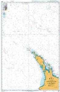 BA Chart 4641: South Pacific Ocean, Australia and New Zealand, Norfolk Island to Cape Egmont
