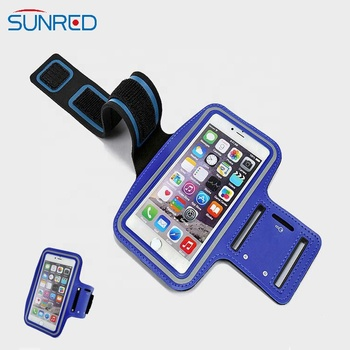 Travelling fitness cheap price refleative edges arm pocket weather and sweatproof running armband