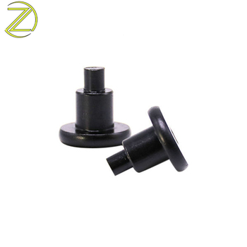 CNC machining precision black anodized 5052/6061 aluminium step rivets