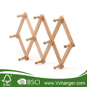 LH065 Popular Wooden Towel Rack China Clothes Rack