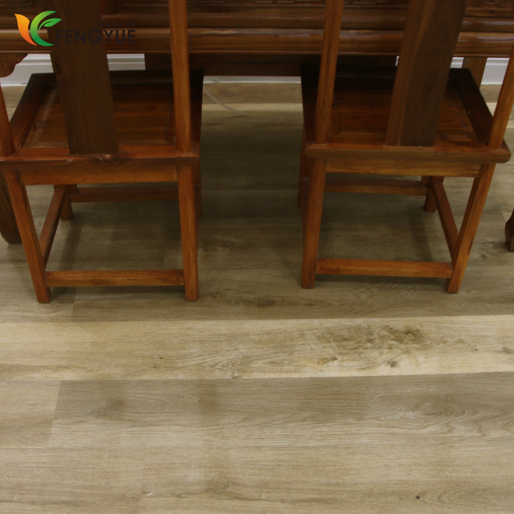 Promotional price China local floor classic design lvt pvc flooring