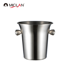 stainless steel rose champagne beer ice bucket