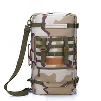 Double Shoulder Pack Waterproof mountaineering bag camouflage outdoor Military Backpack