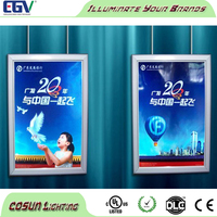 Advertising Clip Ultra Thin A2 Snap Aluminum Open Picture Frame Led light box