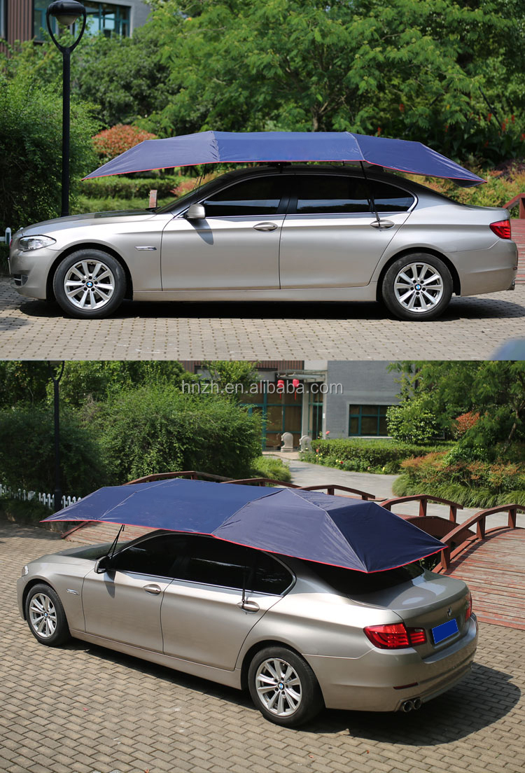 Automatic car umbrella shade