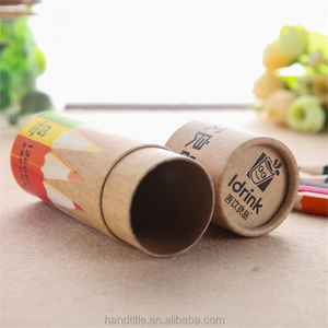 China factory directly wholesale tea food package paper tube box