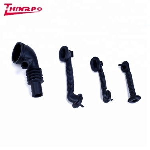 Custom molded NBR /EPDM /FKM auto parts rubber bellows industrial parts rubber sleeve