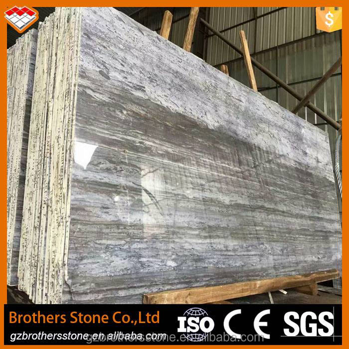 Natural Marble Stone China Blue Wood Grain Marble Tiles Marble Block Price