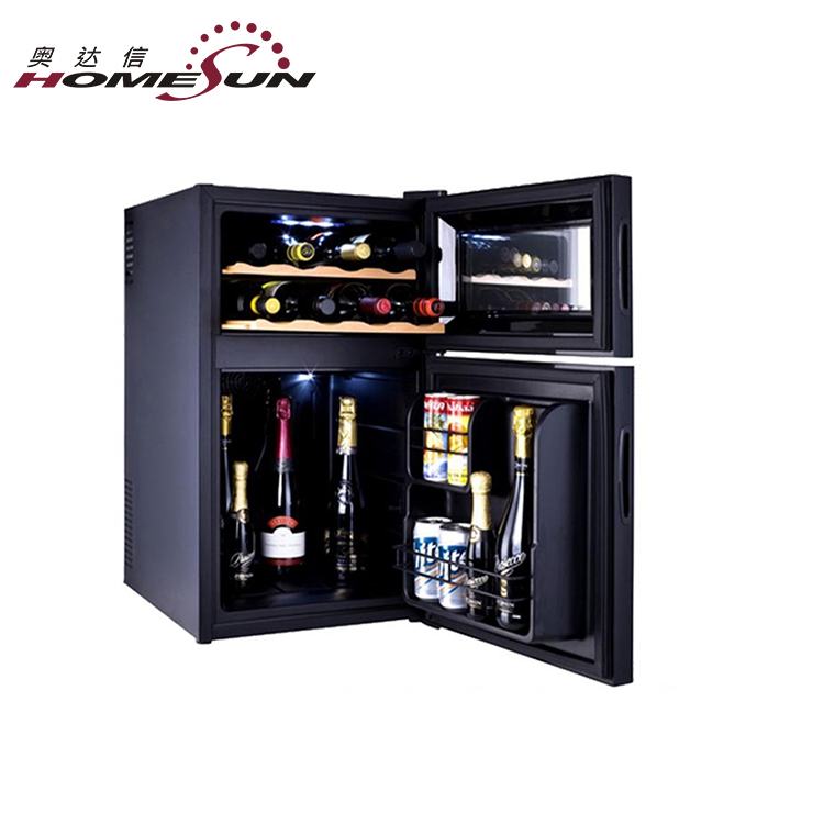 Wholesale Beverage And Wine Cellar, 2 Door Wine Fridge, 2 Door Wine Refrigerator