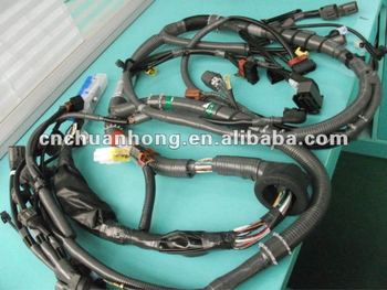 Wiring Harness For All Kinds Of Volvo Cars - Buy Nissan Wire Harness,Car on heavy duty headlight harness, headlight connectors, bucket truck harness, headlight bracket, headlight relay harness,
