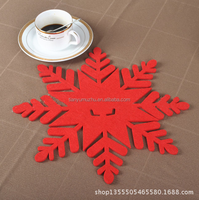 customized size&shape Christmas snowflake craft decoration