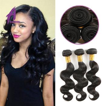 3 Bundles Human Different Types Of Virgin Hair Weave For Braiding