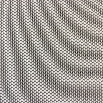 White Sunscreen Fabric 5 Openness Mesh Curtain