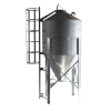 Feed storage poultry chicken animal feed silo feed tower