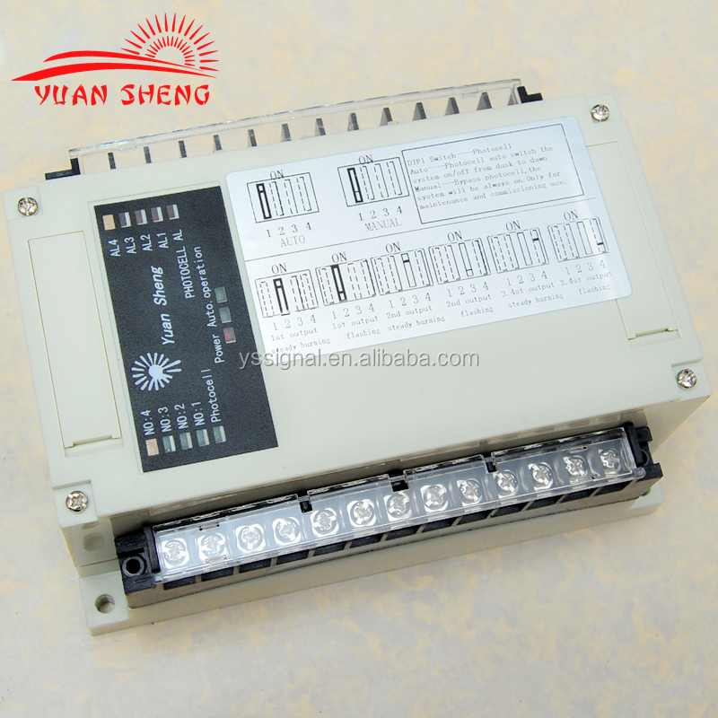Aviation light/ob light controller / control box