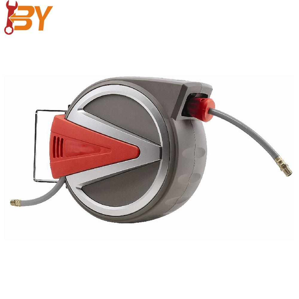2018 news design Garden Tool Automatic 10+1 m air water fire yardwork diameter 5/16'' hose reel