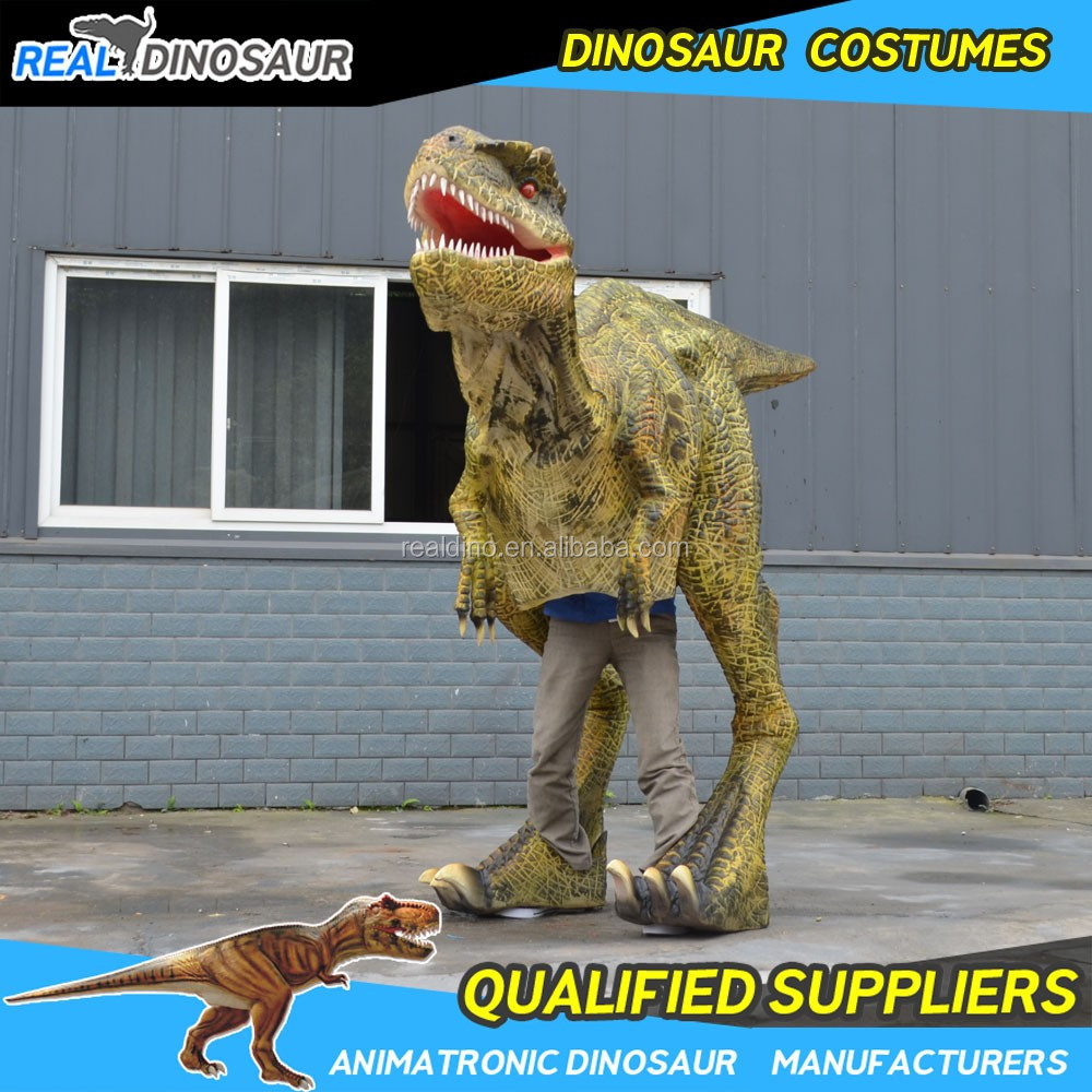Halloween Party Animatronic Props Realistic Walking Dinosaur ...