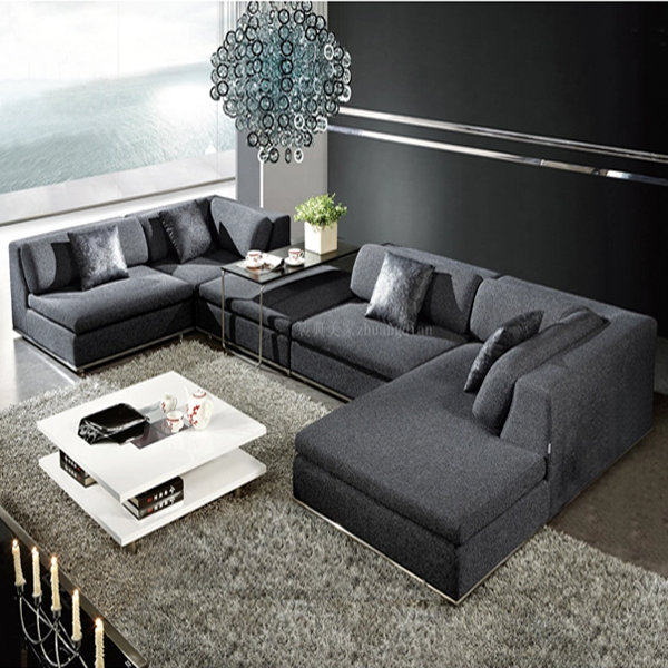 Discount Modern Sofas: Cheap Price Modern Fabric Sofa Living Room Design S035b