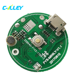 round mini bluetooth speaker circuit board development and design audio  speaker circuit board