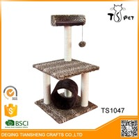 Factory Price Pet Toys Type Indoor Cat Tree House
