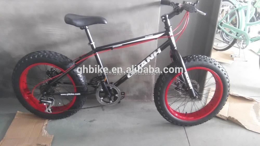 20 Inch Kids Fat Tire Bike Bicycle Snow Bike Buy Snow Bike Fat