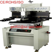 semi-automatic printed circuit board screen printing machine for SMT process