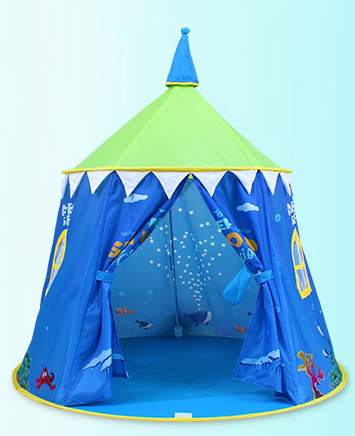 Aioiai Children Kids Play Tent Indian Teepee Fast Open Automatic Camping Tent