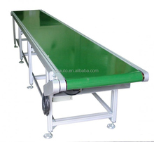 Aluminum belt conveyor, PVC belt conveyor