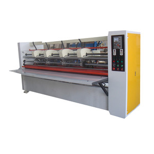 Well Adjust Thin Blade Scorer Machine By Electric For Packaging Line