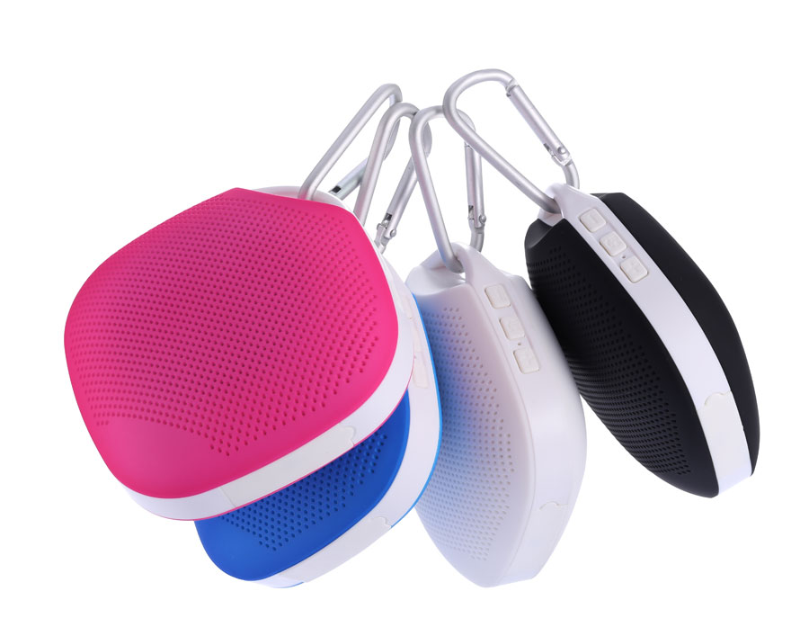 2016 new heart shaped style mini bluetooth wireless portable speaker for wholesales