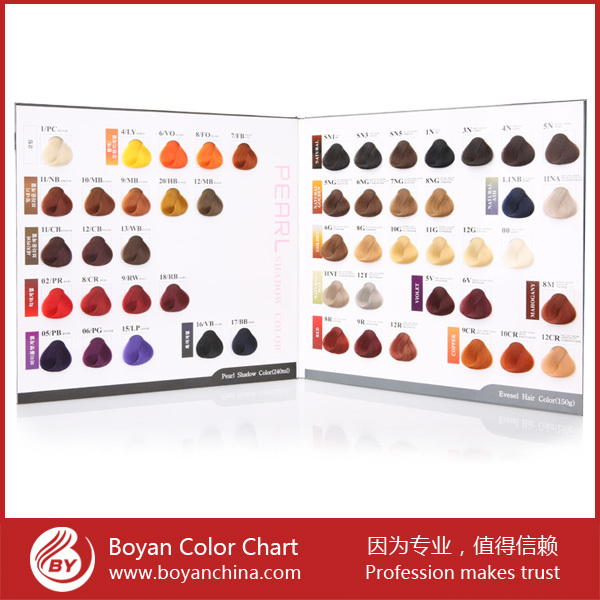Boyan Free Sample Color Chart Hair Color Mixing Chart Color Chart – Sample Hair Color Chart