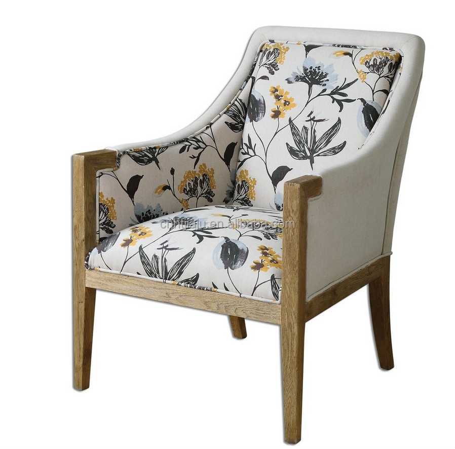 Hot Sale Modern Living Room Chair/wood Dining Chair/floral Curran Armchair  - Buy Fancy Living Room Chairs,Cheap Living Room Chairs,Comfortable Living  ...
