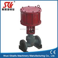 Reversing globe valve