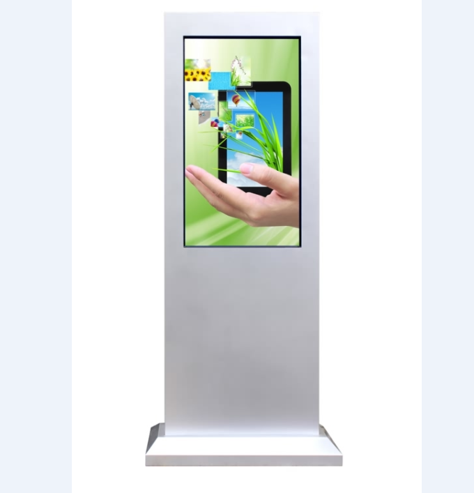 55 inch advertising display,led backlight 2000nits outdoor digital signage,floor standing outdoor advertising lcd display