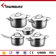 Electric Well Equipped Kitchen Stainless Steel Cookware As Seen As On Tv