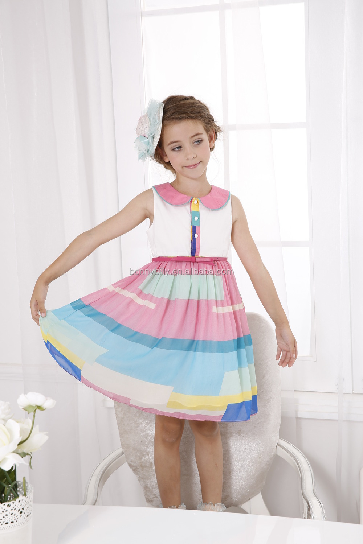 eb7b6b75f2052 New Fashion Colorful Girls Dress Nova Kids Western Wear - Buy Kids ...