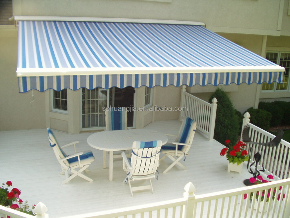 Motor Control Outdoor Folding Arm Patio Awning Garden Awning Balcony Awning  Competitive Price