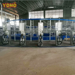 YOMO dairy farm equipment automatic cow milking machine cow rotary milking machine