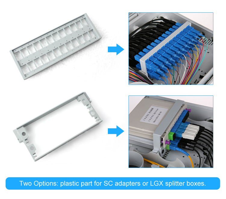 Factory price Outdoor Ip65 Waterproof 8 12 16 Core Ftth Fiber Optic Termination Distribution Box